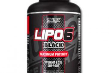 قرص لاغری لیپو سیکس بلک نوترکس جدید Nutrex Lipo 6 Black New