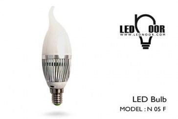 فروش لامپ شمعی ۵ وات
