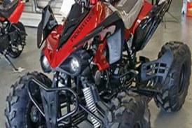 موتور چهار چرخ ۱۲۵ سی سی جترو چرخ بزرگ
