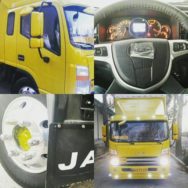 کامیونت جک ۵-۶ و ۸ تن نقد و لیزینگ بانکی