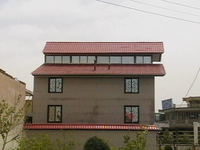 اجرای سقف شیروانی-اجرای سقف آردواز-طرح سفال-نما و لمبه فلزی