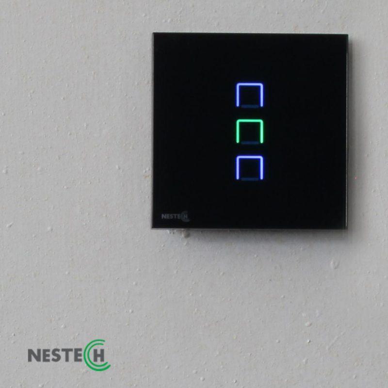 کلیدها و پریزهای لمسی- کنترلی ( خانه هوشمند)
