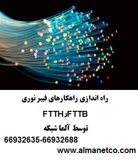 راه اندازی راهکارهای فیبر نوری FTTB و FTTH توسط آلما شبکه–۶۶۹۳۲۶۳۵