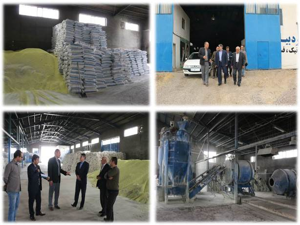شرکت زرکود برکت بزرگترین تولید کننده کودهای کشاورزی در منطقه