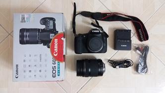 Canon 60D – Lens 18/135 Kit Is