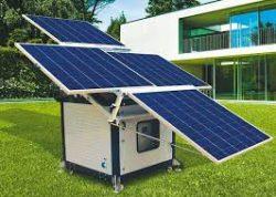 باتری خورشیدی، نیروگاه خورشیدی، باتری سولار ، باطری