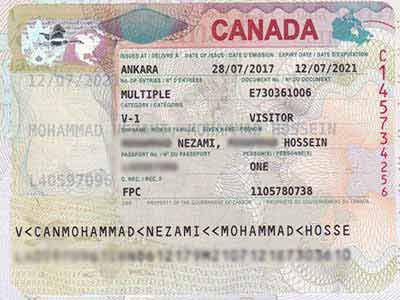 ویزای دانش آموزی دانشجویی توریستی کانادا