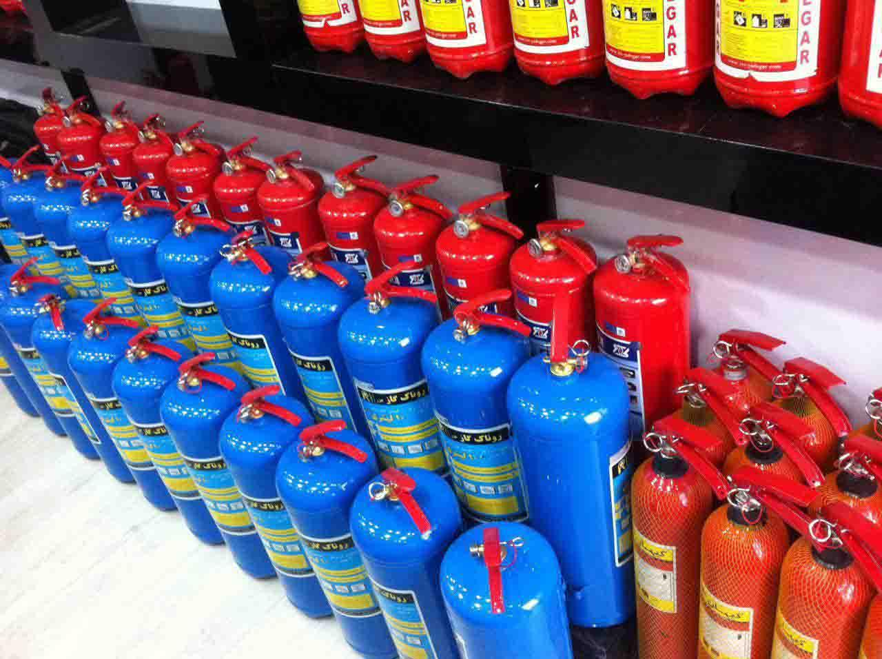شارژ و فروش کپسول آتش نشانی زیر نظر مستقیم اتحادیه