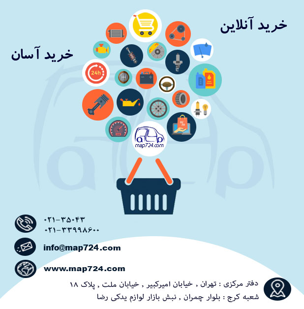 فروشگاه اینترنتی Map724