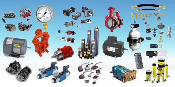 تامین کننده قطعات هیدرولیک و پنوماتیک
