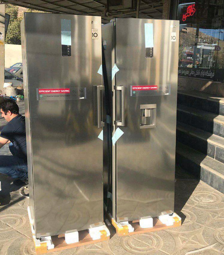 قیمت یخچال ال جی / خرید یخچال دوقلو ال جی Lg
