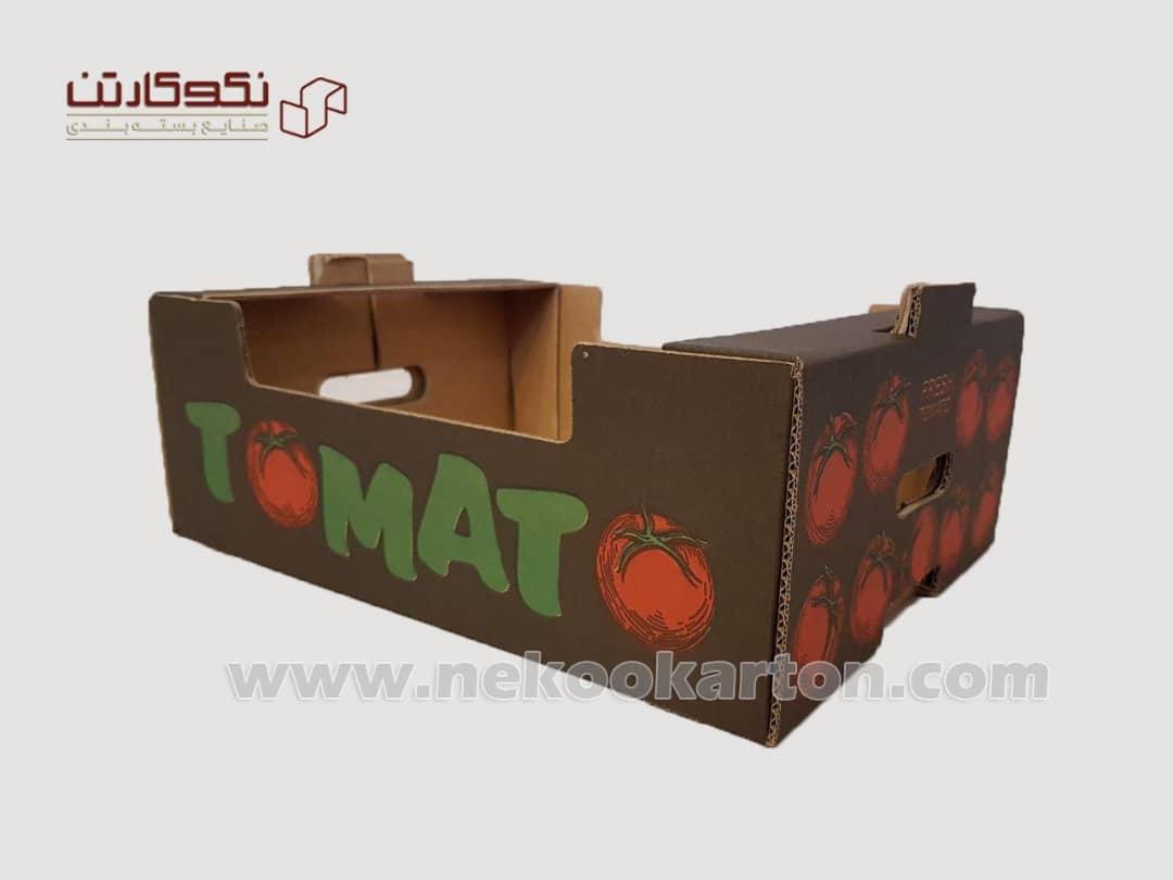 تولیدتخصصی کارتن میوه جهت صادرات وسردخانه