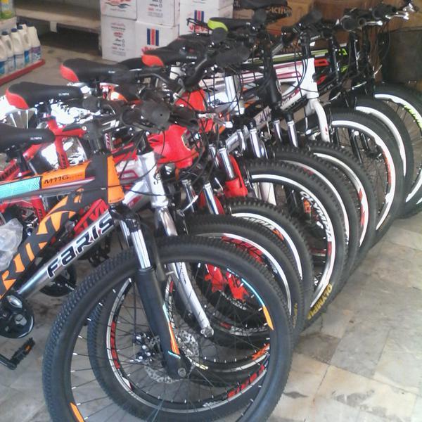فروش دوچرخه جدید رنگارنگ نو آکبند