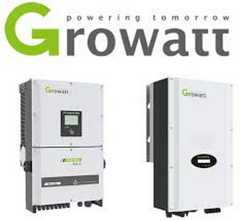 فروش واجرای اینورتر های Growatt متصل به شبکه