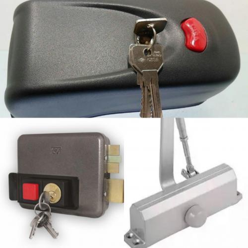 نصب و تعمیر انواع قفل برقی