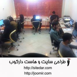 گروه خلاق طراحی سایت دارکوب
