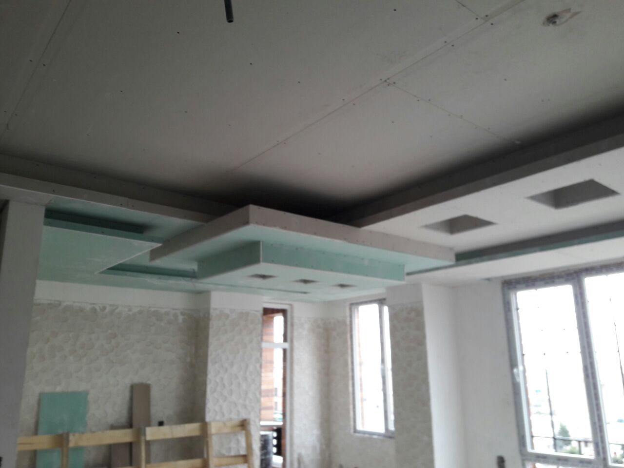 اجرای سقف کناف....شرکت تک سازه