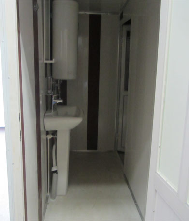 تولید سرویس بهداشتی فایبرگلاس منازل و فضای باز