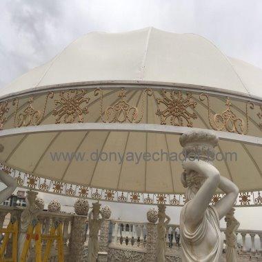 طراحی- فروش و دوخت  انواع چتر- آلاچیق- سایه بان