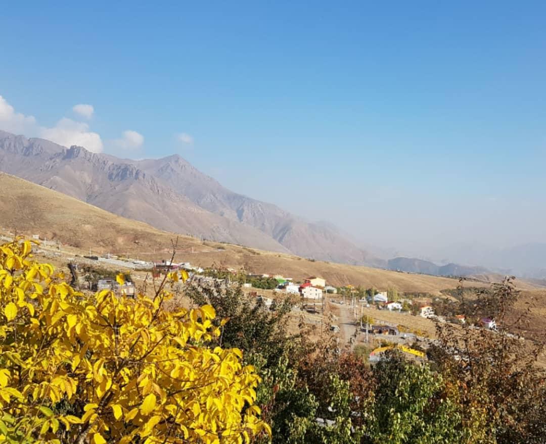 فروش زمینهای لواسان تهران راحت اباد در متراژ مختلف