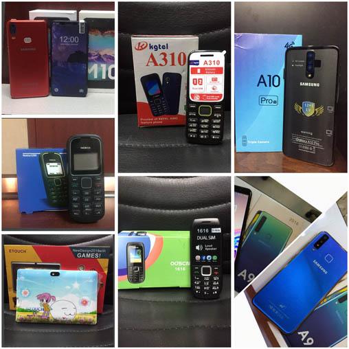 فروش عمده انواع گوشی موبایل و تبلت درجه ۱ و طرح