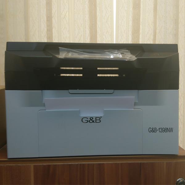 فروش پرینتر لیزری سه کاره جی اند بی G&b 1398nw