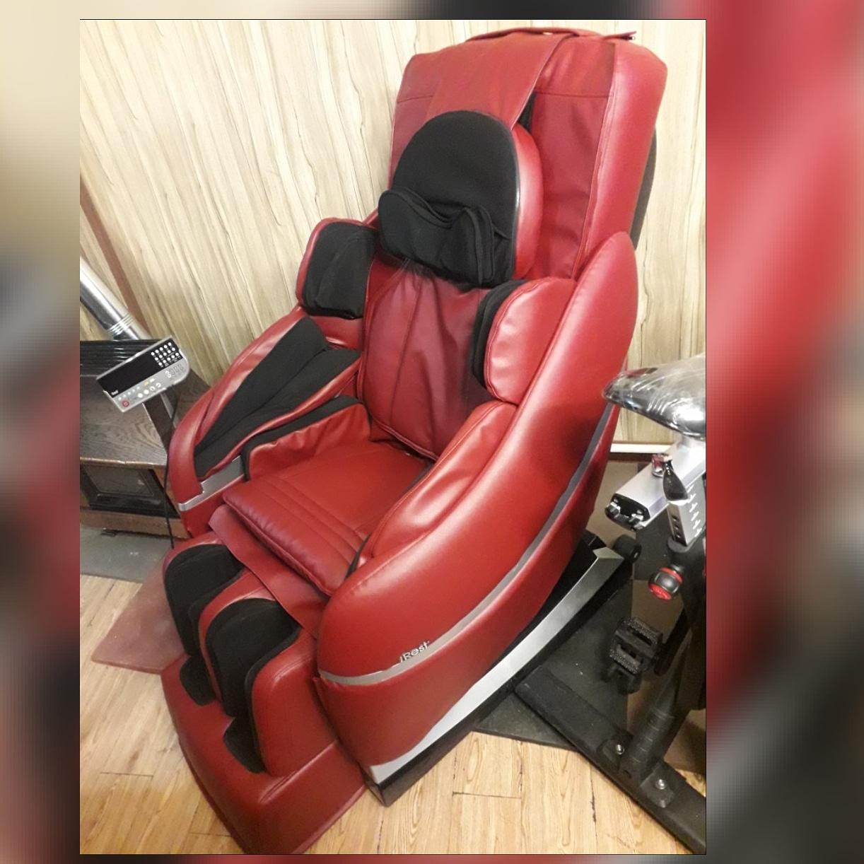 تعویض روکش صندلی ماساژ و دستگاه بدنسازی