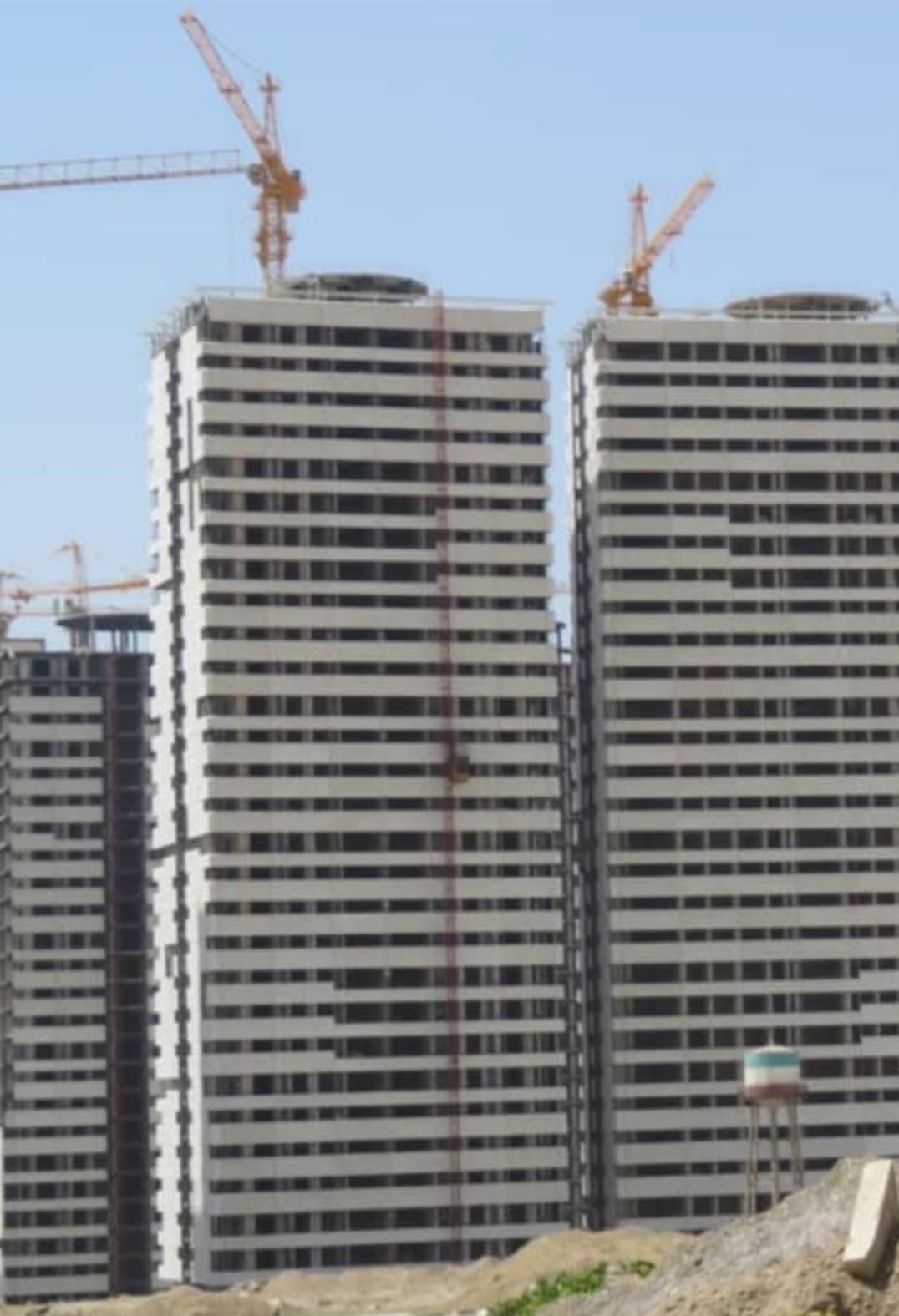 فروش واحدهای مختلف در چیتگر برجهای خرازی