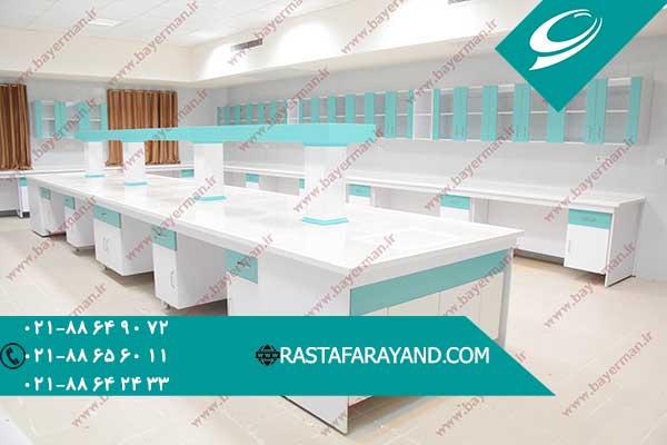 میز بندی آزمایشگاهی در رستا فرآیند سپنتا