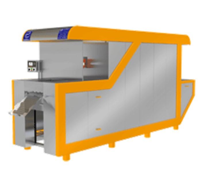 دستگاه تونلی در ابعاد مختلف با حرارت غیر مستقیم جهت تولید نا