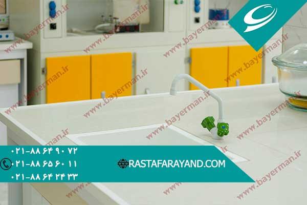 سینک آزمایشگاهی با نصب راحت در رستا فرآیند