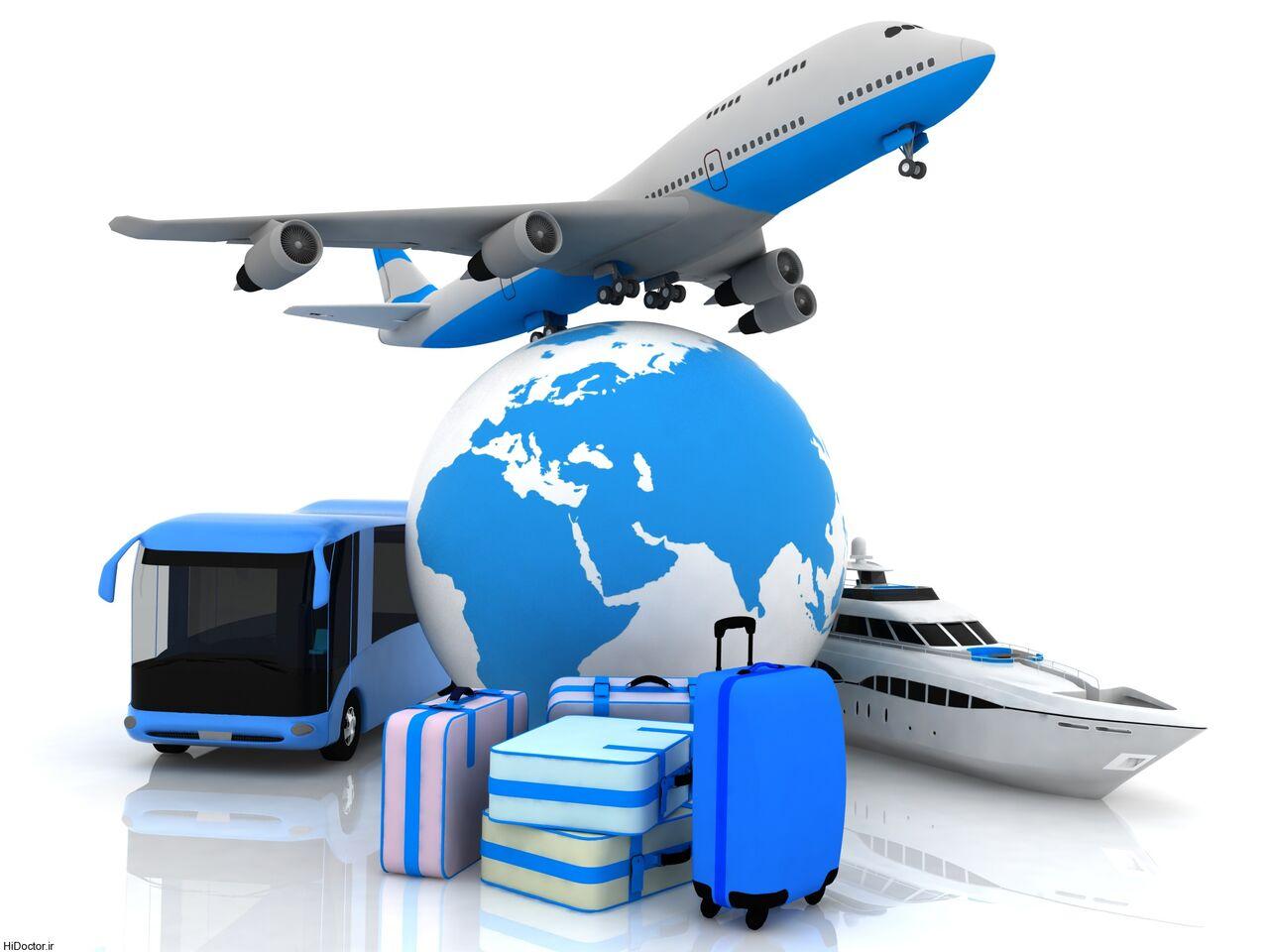 آگهی خدمات مسافرتی