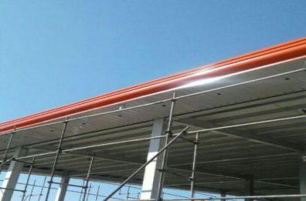 قیمت اجرای سقف شیروانی وسقف های شیبدار تعمیر و پوشش سقف سوله