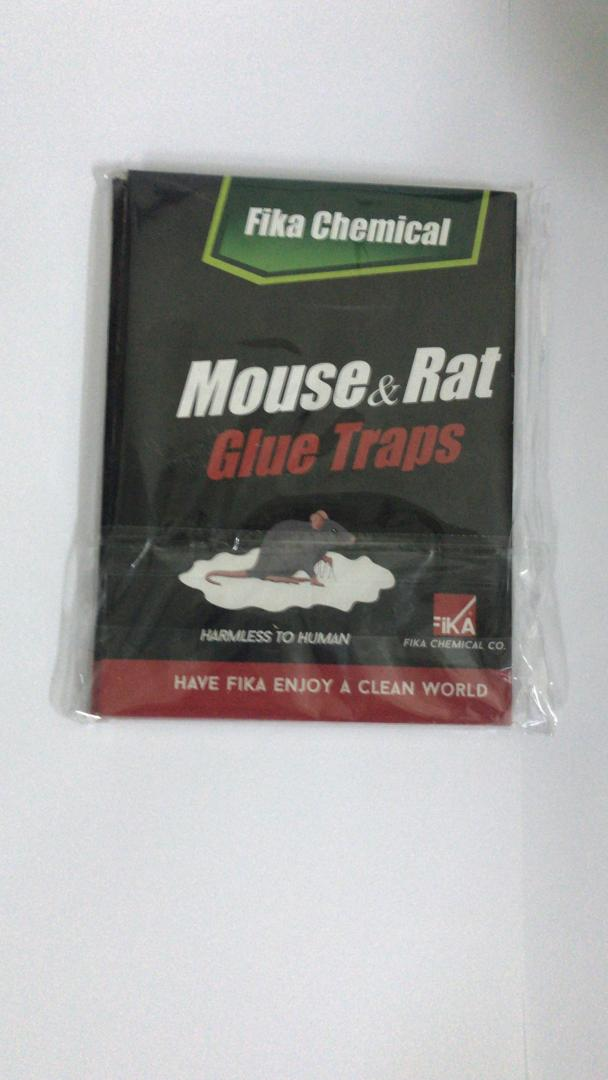 چسب موش کتابی و کارت زرد فیکا شیمی