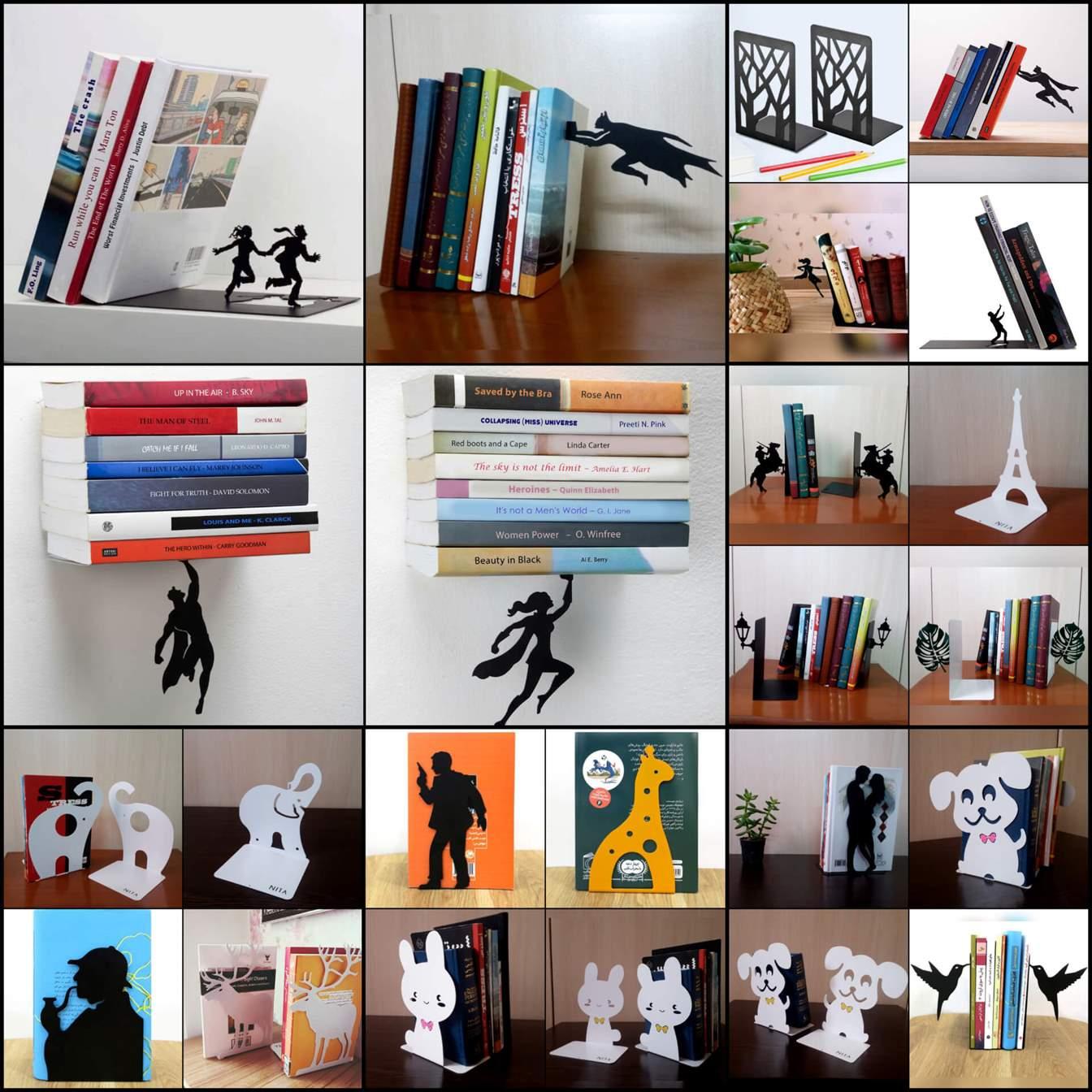 نگهدارنده کتاب خلاقانه و کاربردی نیتا متال