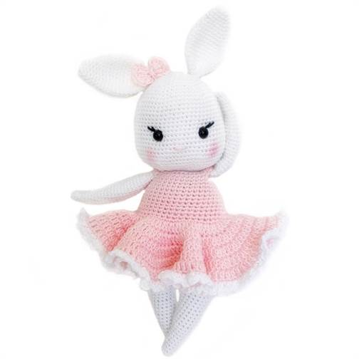 آموزش بافت عروسک های بافتنی زیبا با قلاب