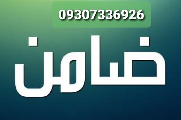 ضامن بافیش حقوقی/ضمانت بافیش حقوقی/ضامن فیش حقوقی دادگاه