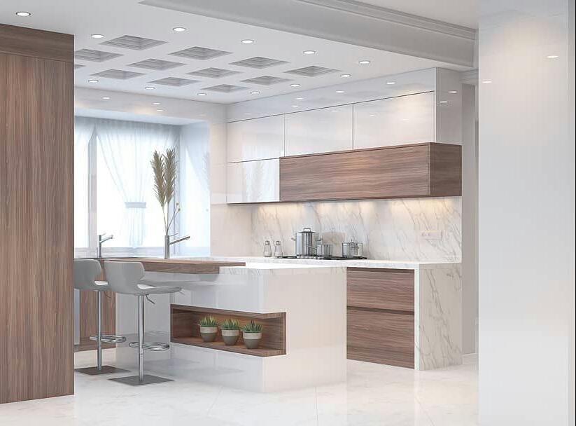 طراحی آشپزخانه و ..... با تری دی مکس