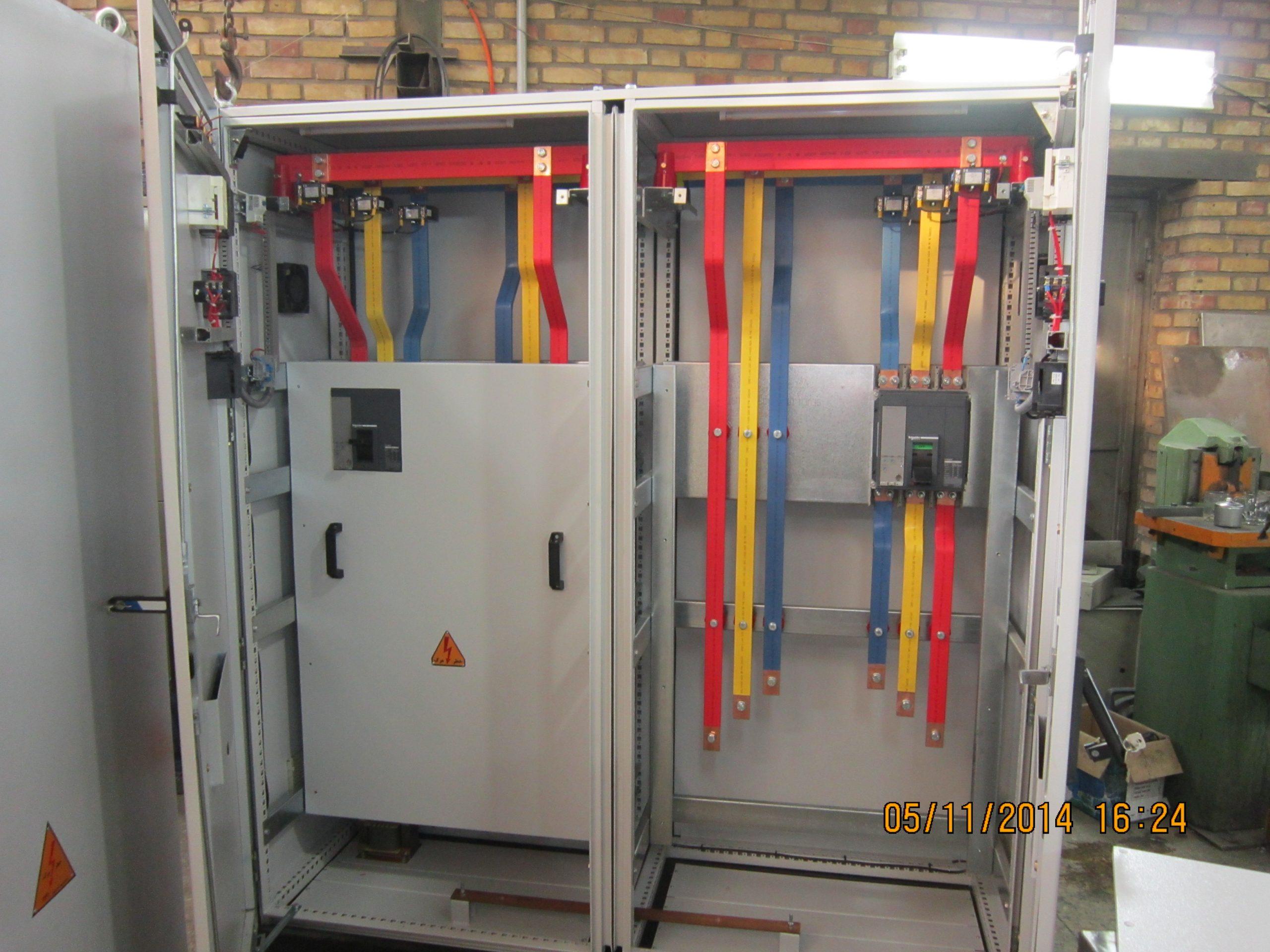 تتابلو برق صنعتی وخدمات رنگ الکترو استاتیک