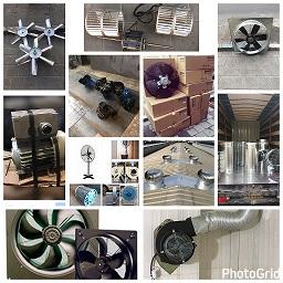طراحی وساخت انواع هواکش های صنعتی