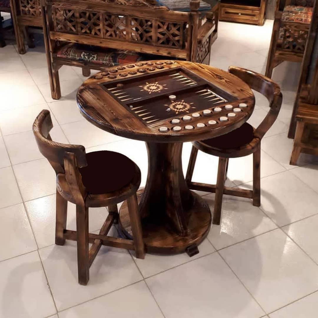 میزبازی تخته نرد و شطرنج