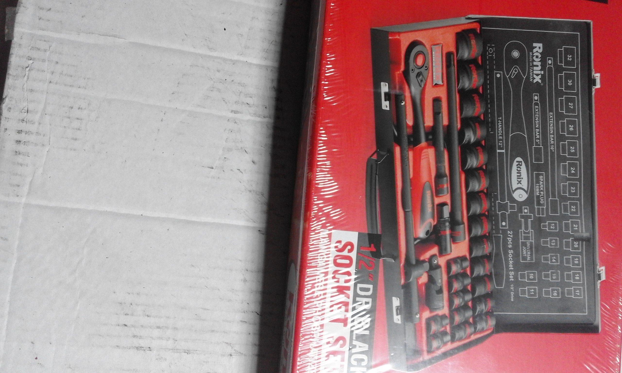 جعبه بکس رونیکس سیاه تعمیرگاهی صنعتی