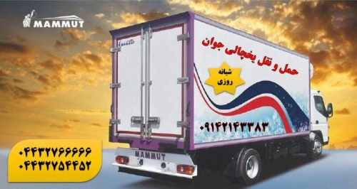 حمل و نقل یخچالداران مشهد