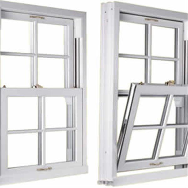 تولیدکننده در و پنجره دوجداره Upvc ، پنجره آلومینیوم ترمال برک و توری پنجره با بالاترین