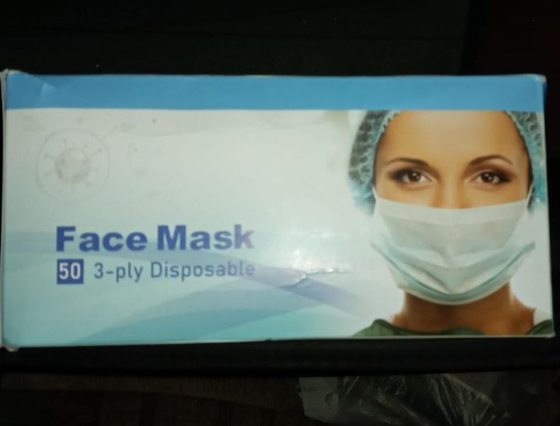 ماسک 3 لایه تمام پرس