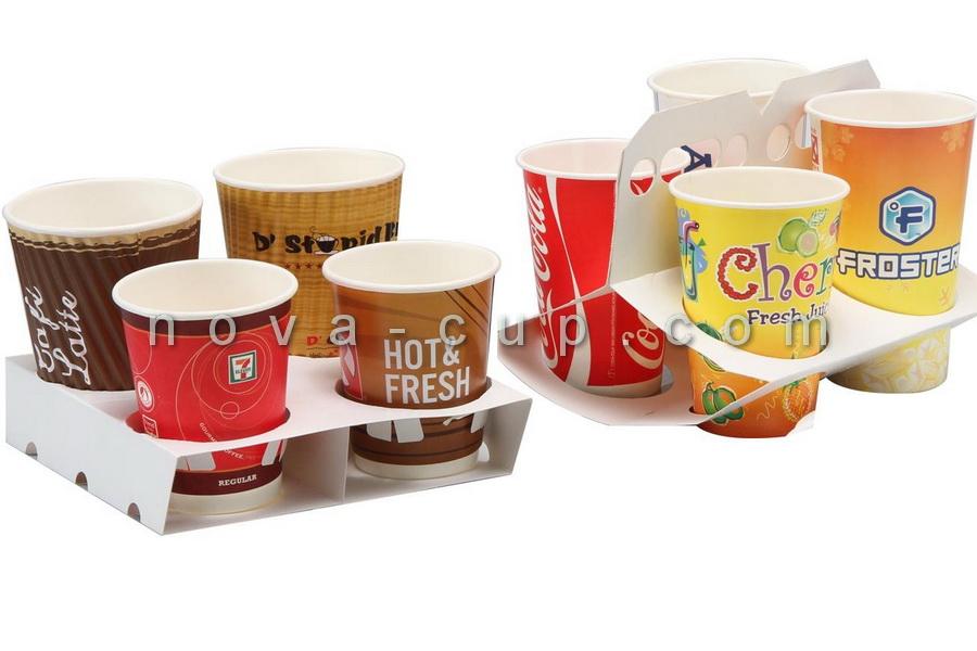 انواع لیوان کاغذی تبلیغاتی
