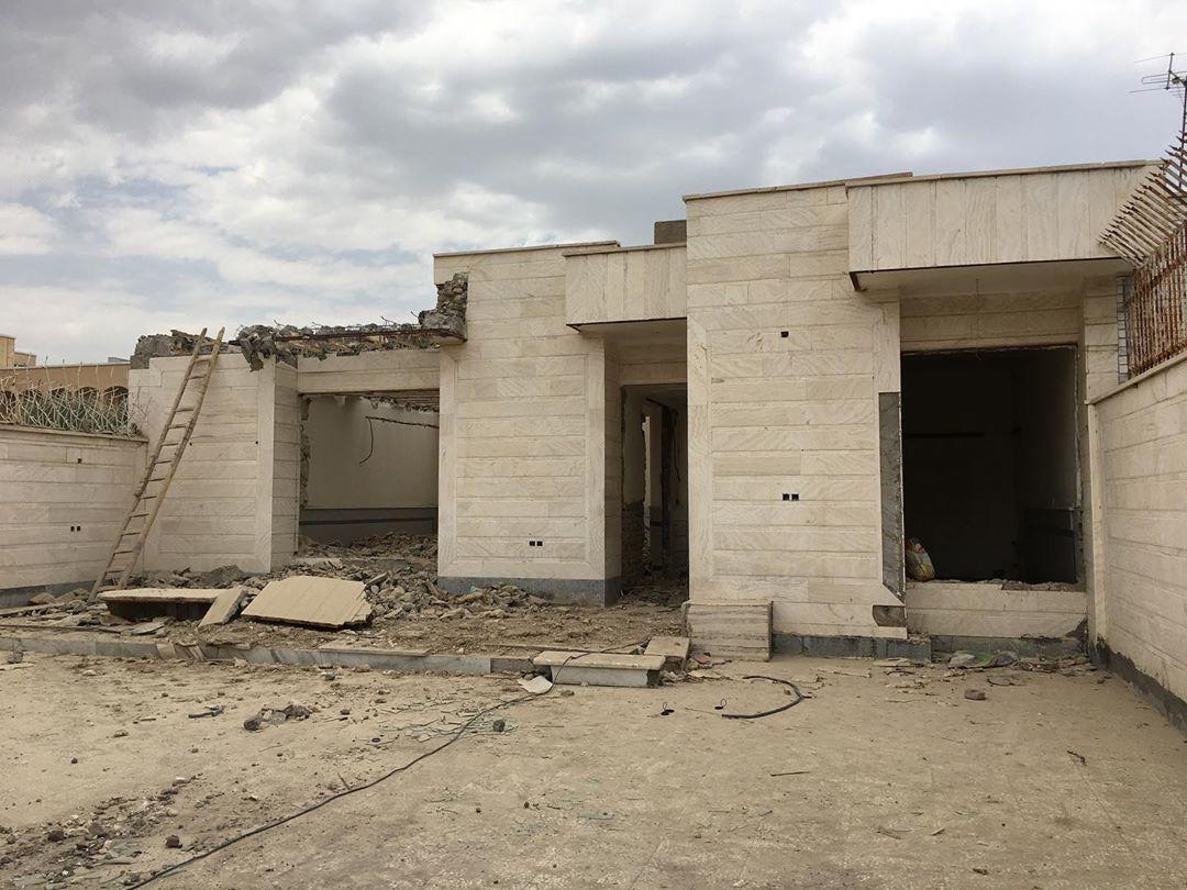 تخریب ساختمان ، بازسازی ، تعمیرات ، خاک برداری و....