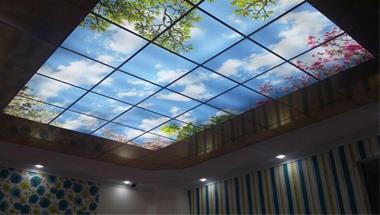 فروش انواع سقف کاذب آسمان مجازی اجرای سقف کاذب