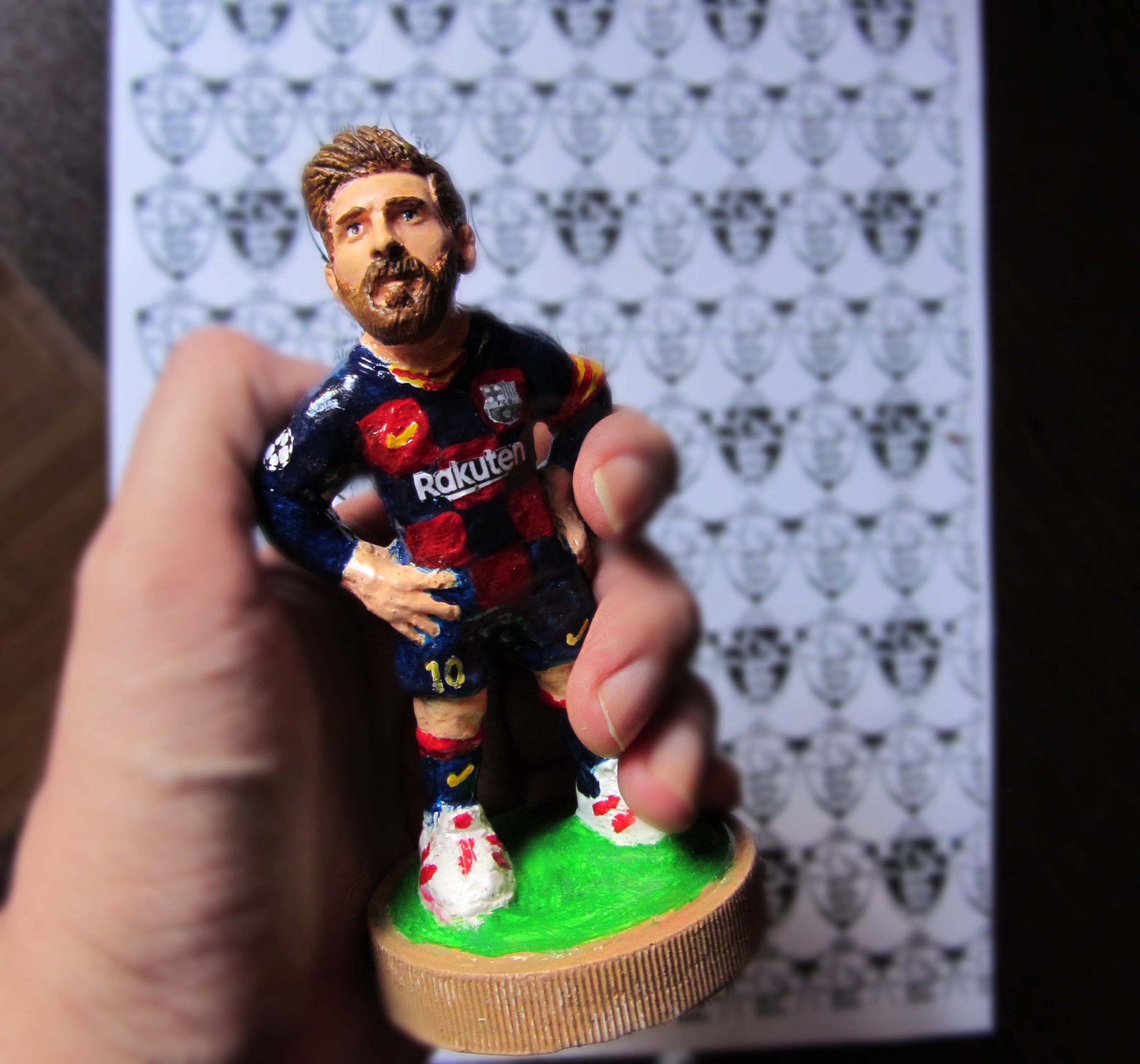 فروش فیگور مجسمه عروسک لیونل مسی باشگاه بارسلونا