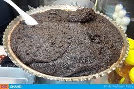 حلوای سیاه اردبیل